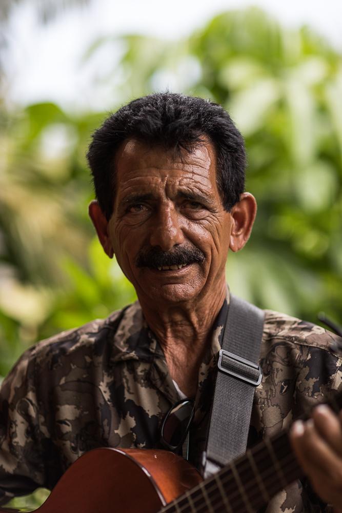 Portrait d'un musicien Cuba